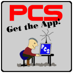 get the free pcs schedule app from google play